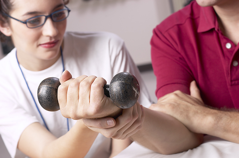 Exercise as a component of healing